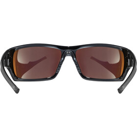 UVEX Sportstyle 222 Pola Gafas deportivas, black green/mirror gree